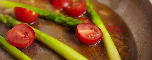 Шаг 10: стейка из лосося с овощами