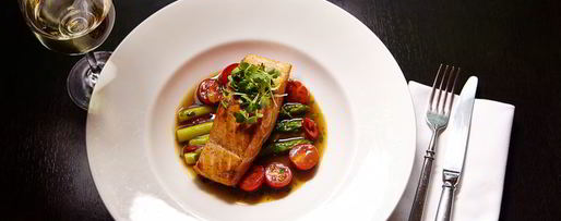 Шаг 12: стейка из лосося с овощами